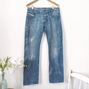 Diesel Adidas Collaboration Relaxed Straight Jeans